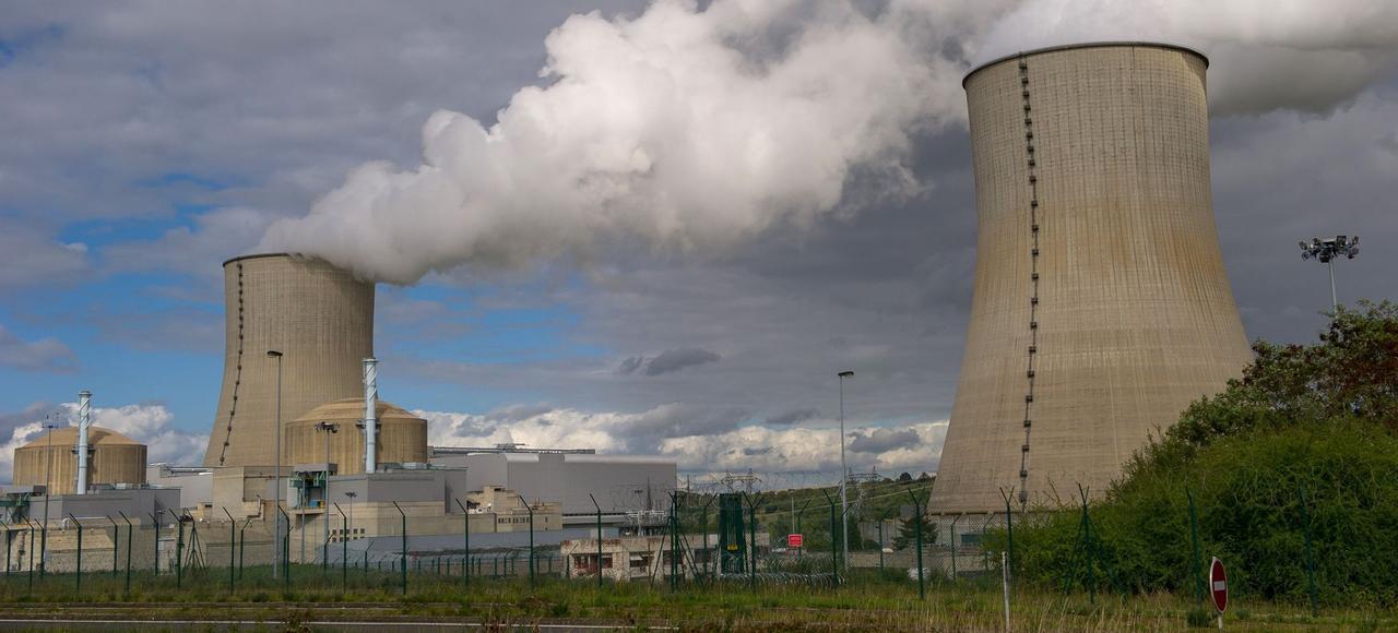 Centrale nucléaire de Civaux, dans la Vienne.