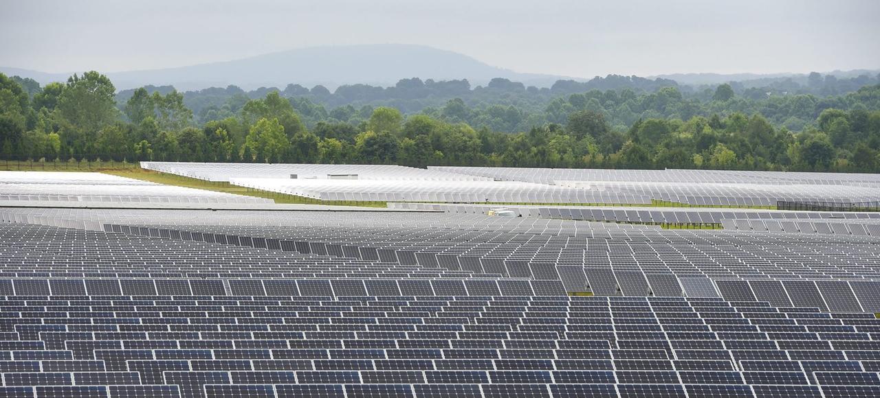 Le datacenter d'Apple à Maiden, en Caroline du Nord, fonctionneà l'énergie solaire.