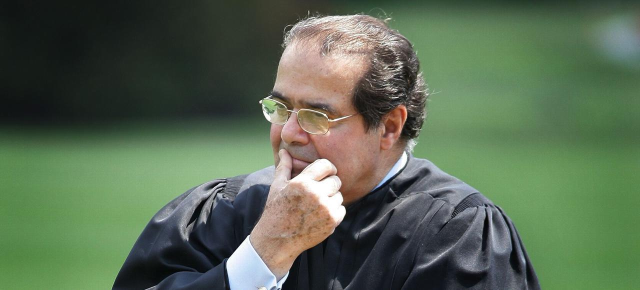 Le juge Antonin Scalia (ici en juin 2006) était une figure conservatrice de la Cour suprême où il avait été nommé par Ronald Reagan, en 1986.