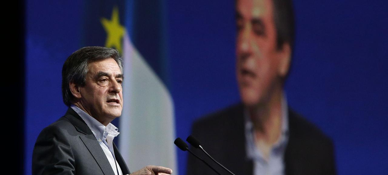 François Fillon, samedi, au conseil national des Républicains, à Paris.