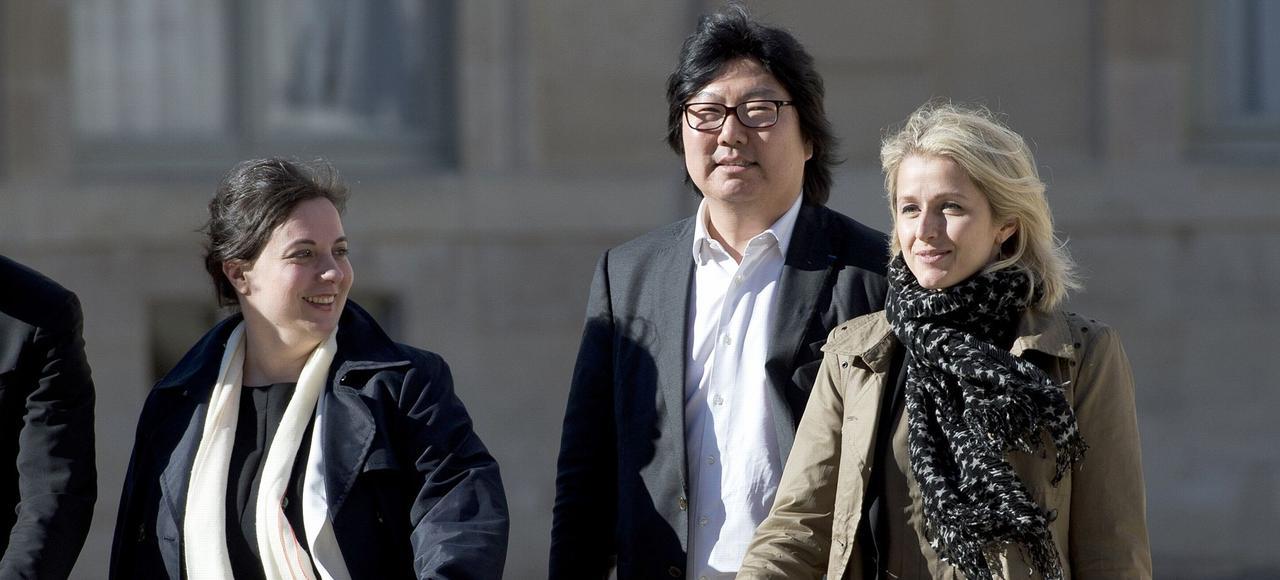 Emmanuelle Cosse, Jean-Vincent Placé et Barbara Pompili ont intégré le nouveau gouvernement Valls le 11 février.