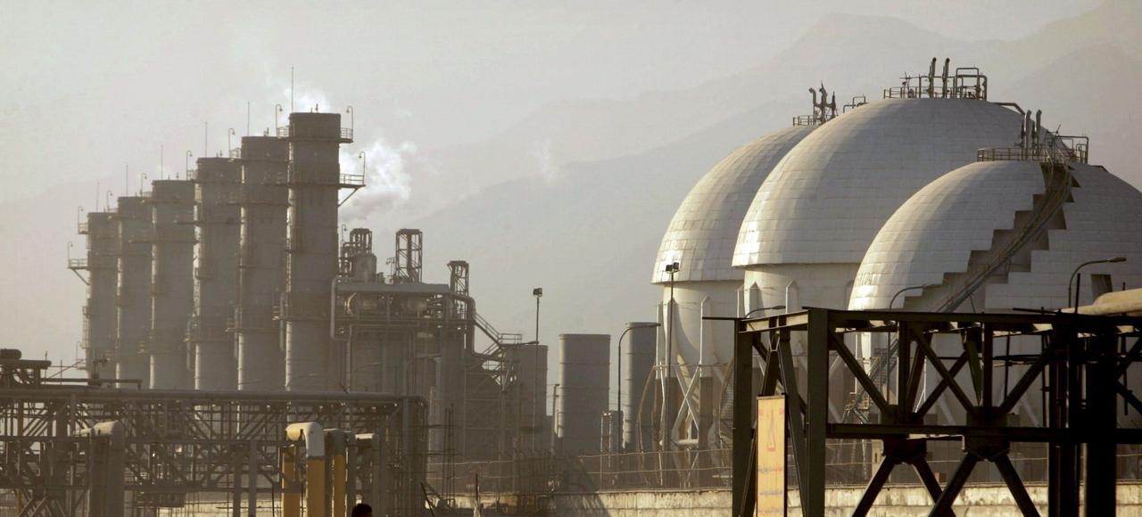 Un complexe pétrochimique à Assaluyeh, en Iran.