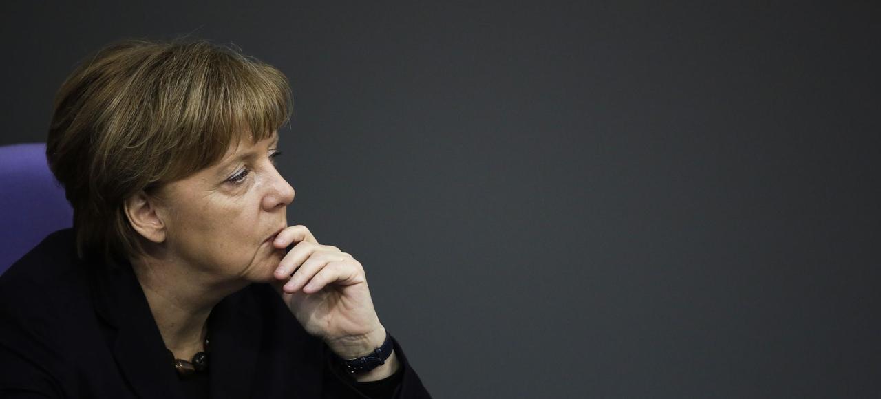 Angela Merkel s'est exprimée devant le Bundestag, ce mercredi, à la veille du Conseil européen qui se tient jeudi et vendredi à Bruxelles.