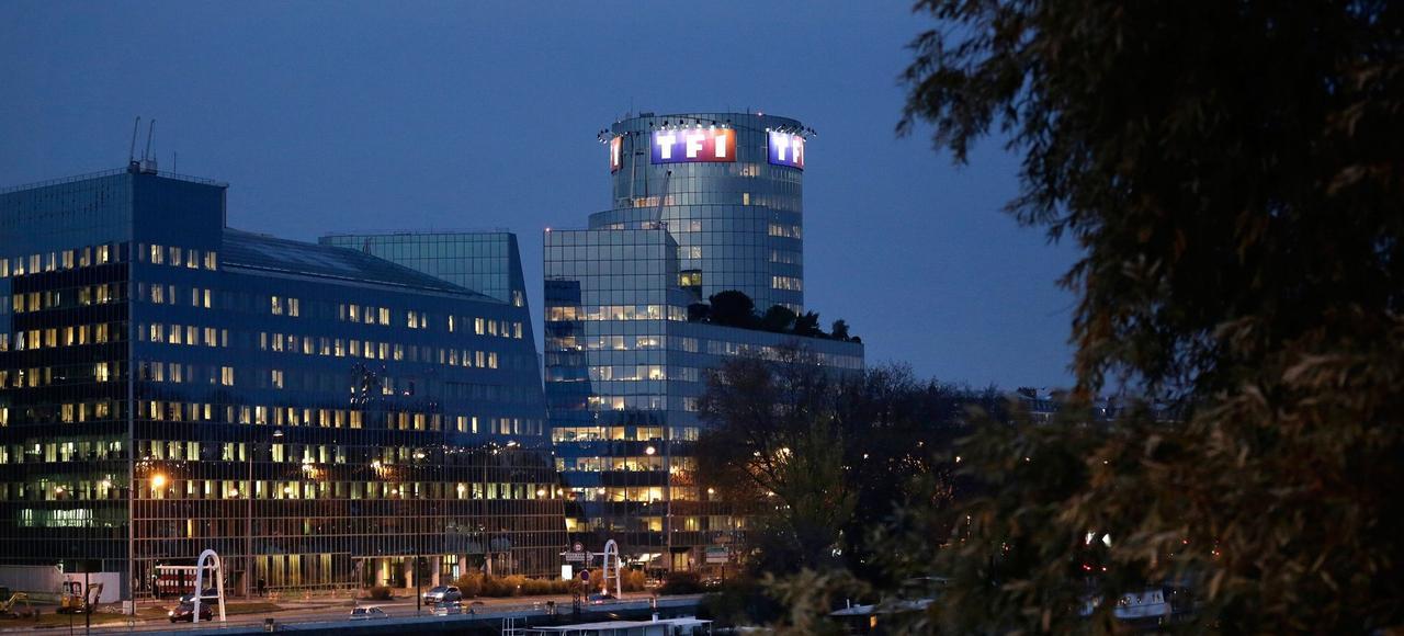 Le siège social de TF1, à Boulogne-Billancourt (92).