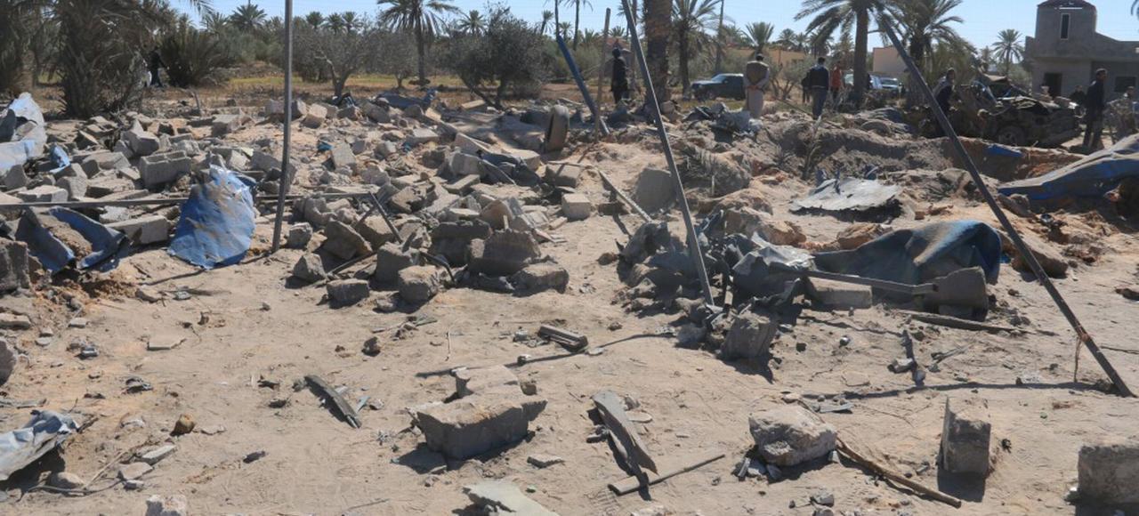 Dans la nuit de jeudi à vendredi, la frappe de l'aviation américaine a fait 41 morts et une dizaine de blessés, près de la ville de Sabratha, en Libye.