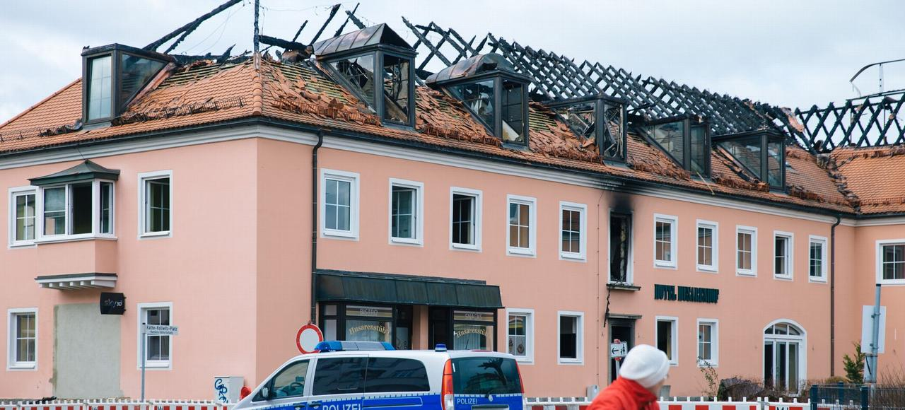 Le futur centre d'accueil de réfugiés de Bautzen (Saxe) a été incendié dans la nuit de samedi à dimanche.