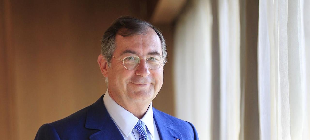 «L'État détient environ 21% des actions d'Orange. Nous n'irons pas au-delà de ce seuil», a promis Martin Bouygues.