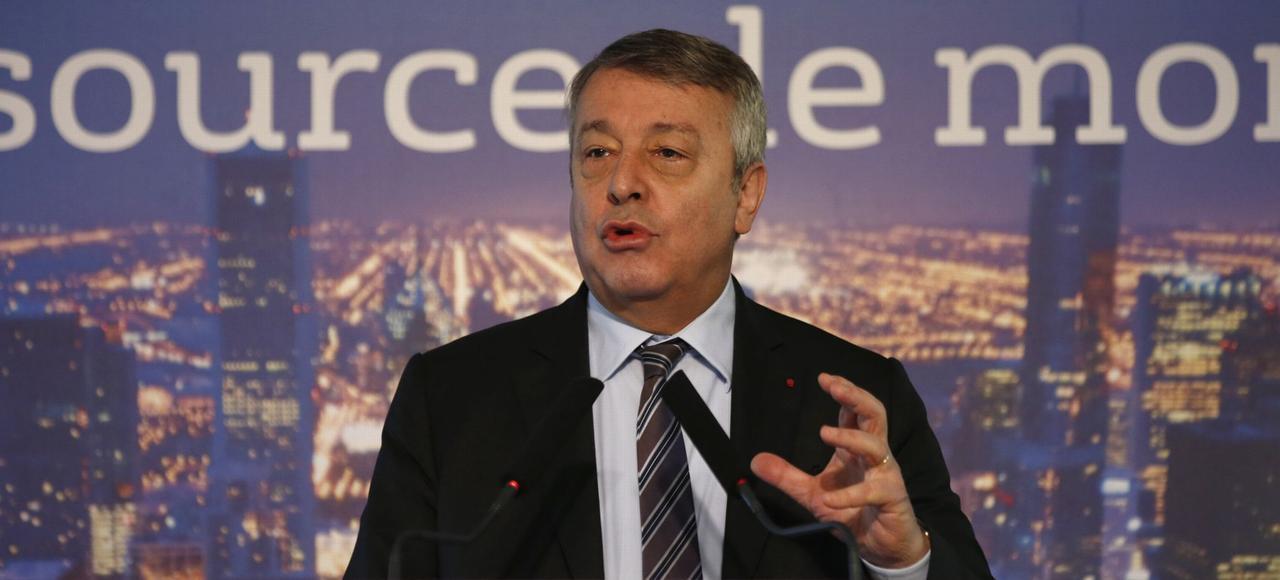 Antoine Frérot, PDG de Veolia, jeudi à Paris.
