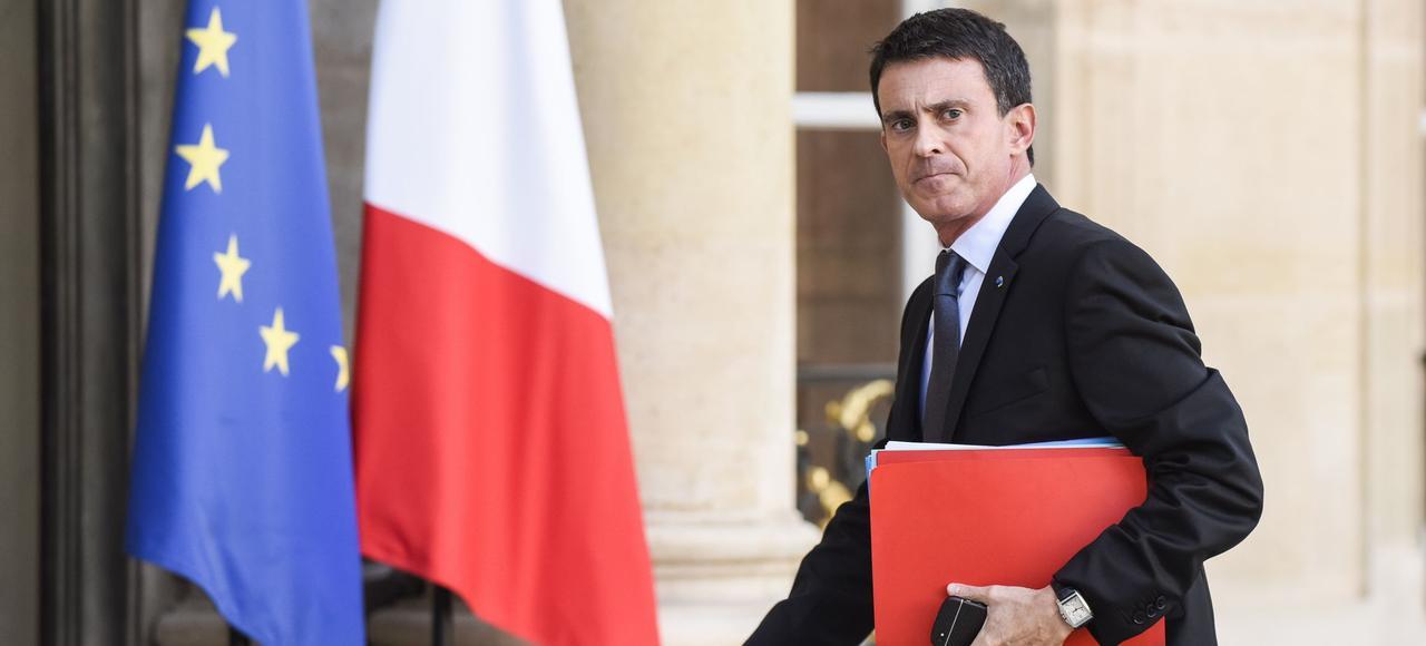 Manuel Valls, en novembre à Paris.