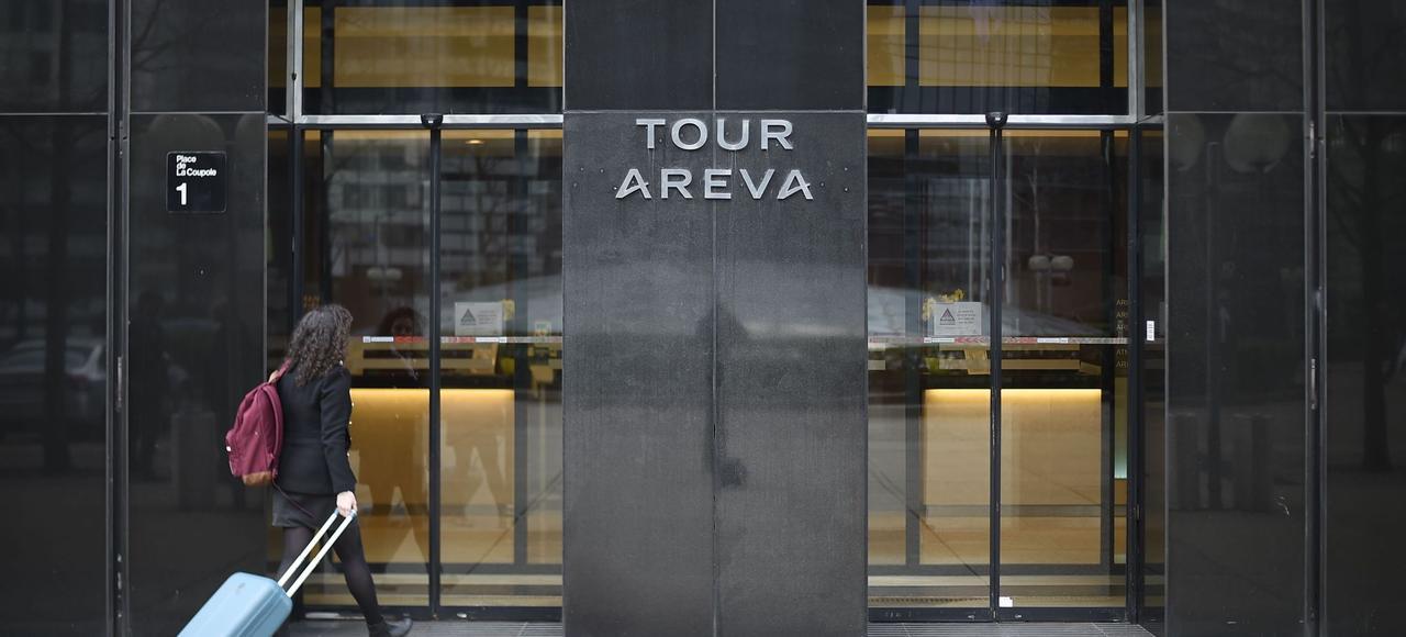 Le siège du groupe Areva, à La Défense.
