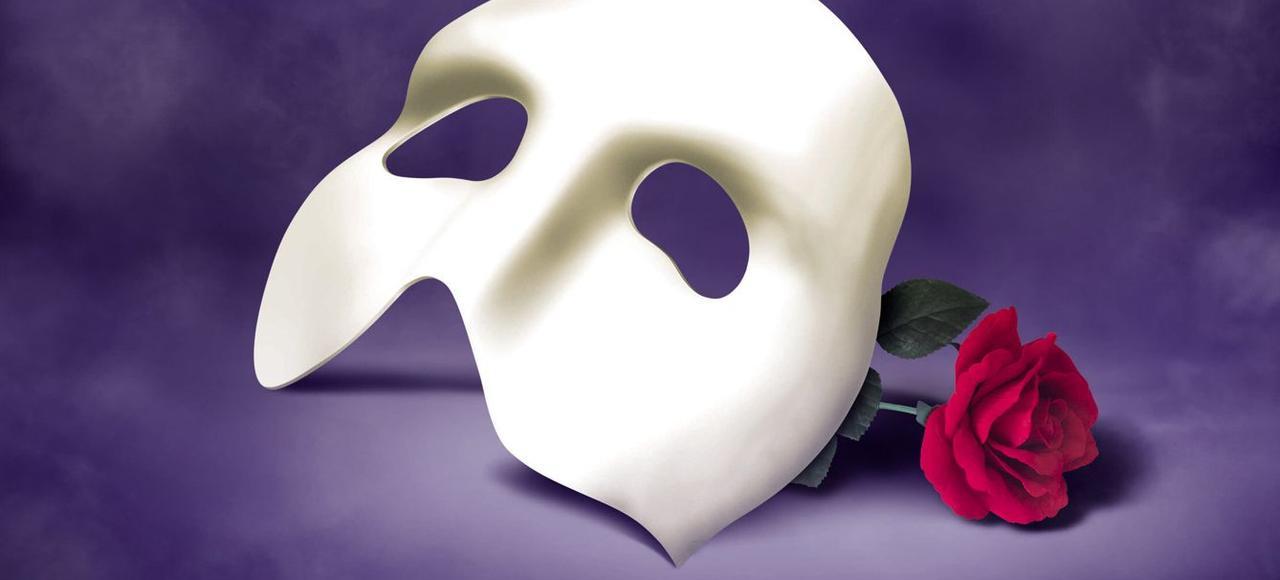 Affiche du Fantôme de l'Opéra.