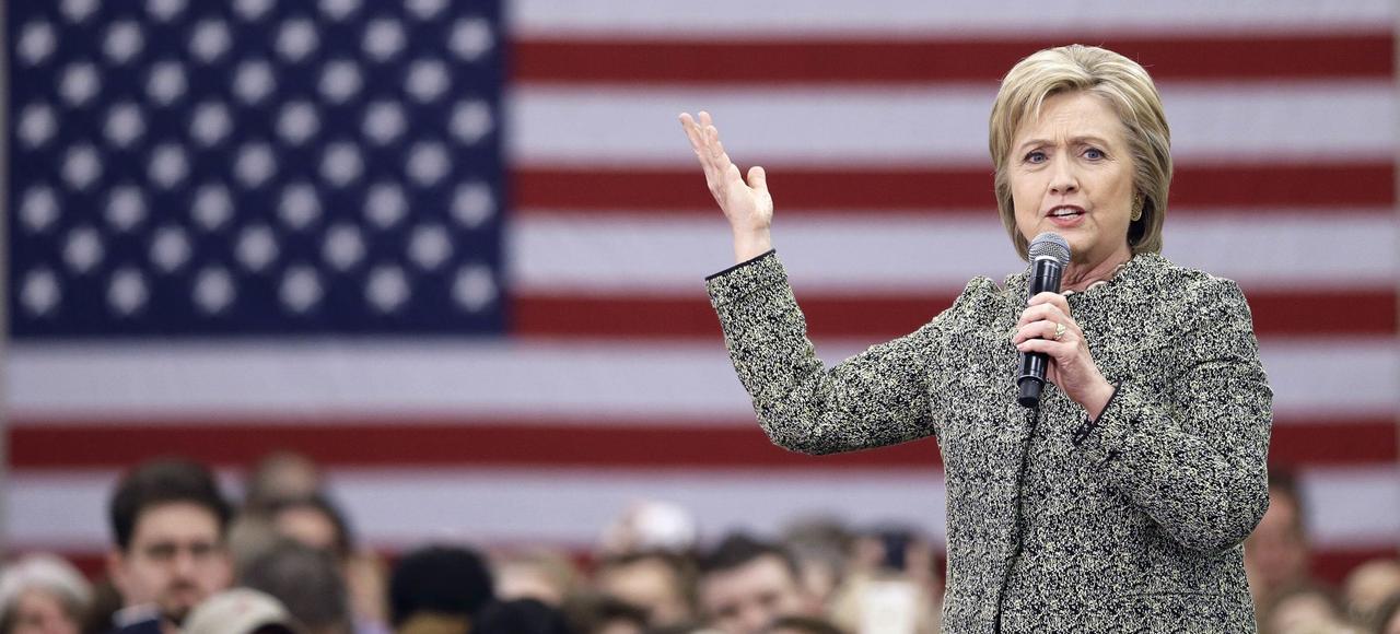 Hillary Clinton, le 28 février lors d'un meeting à Nashville, Tennessee.