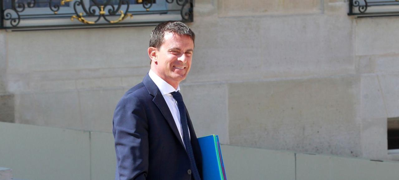 Manuel Valls, en août à l'Élysée.