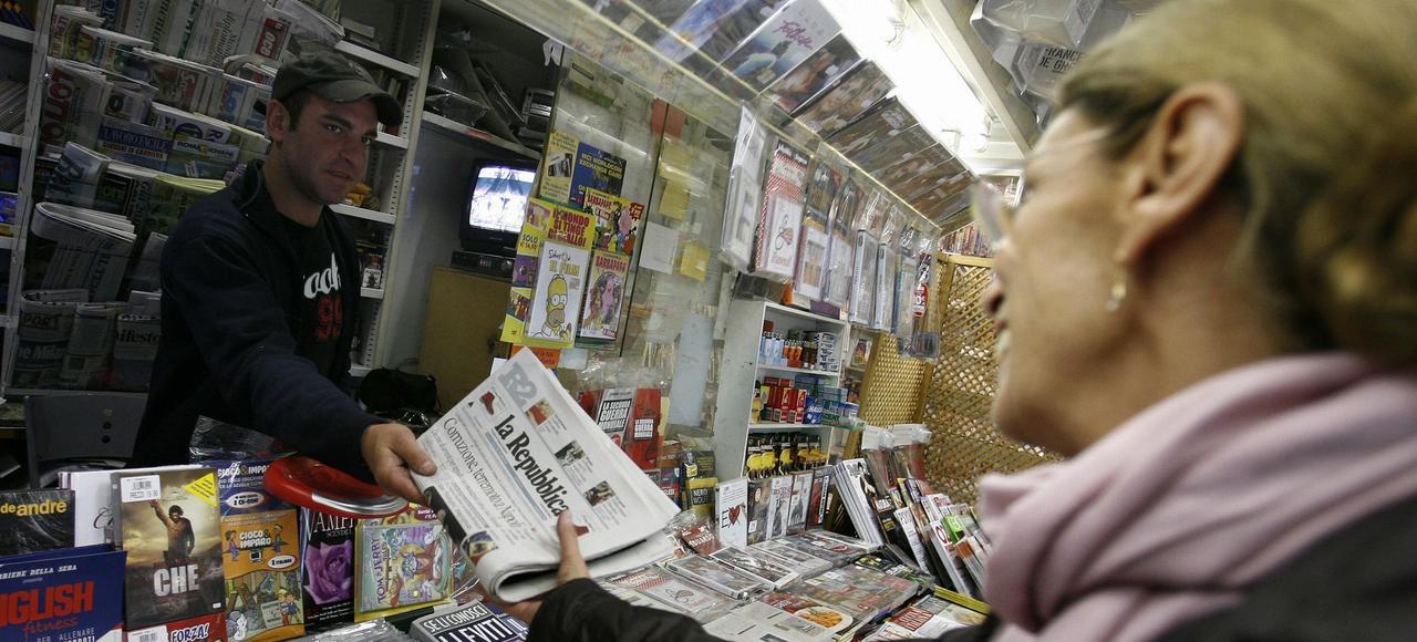 En Italie, <i>La Repubblica</i> et <i>La Stampa</i> fusionnent