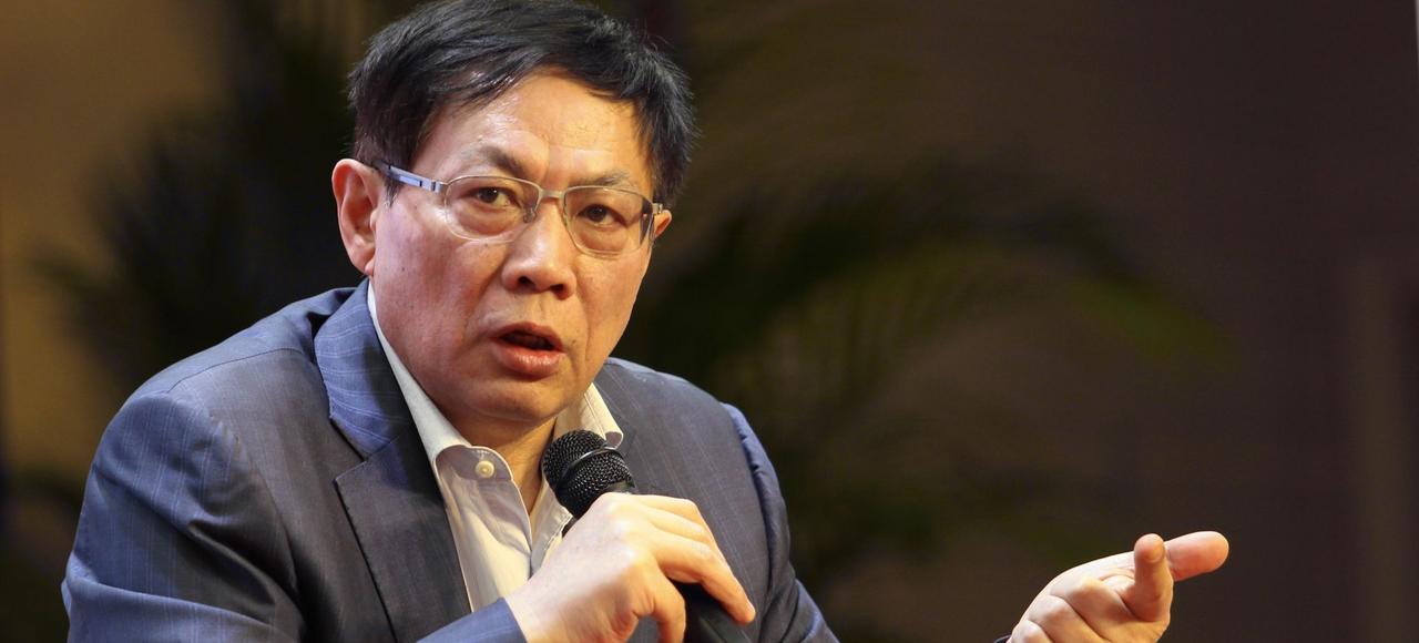 Ren Zhiqian en décembre 2015 à Wuhan.