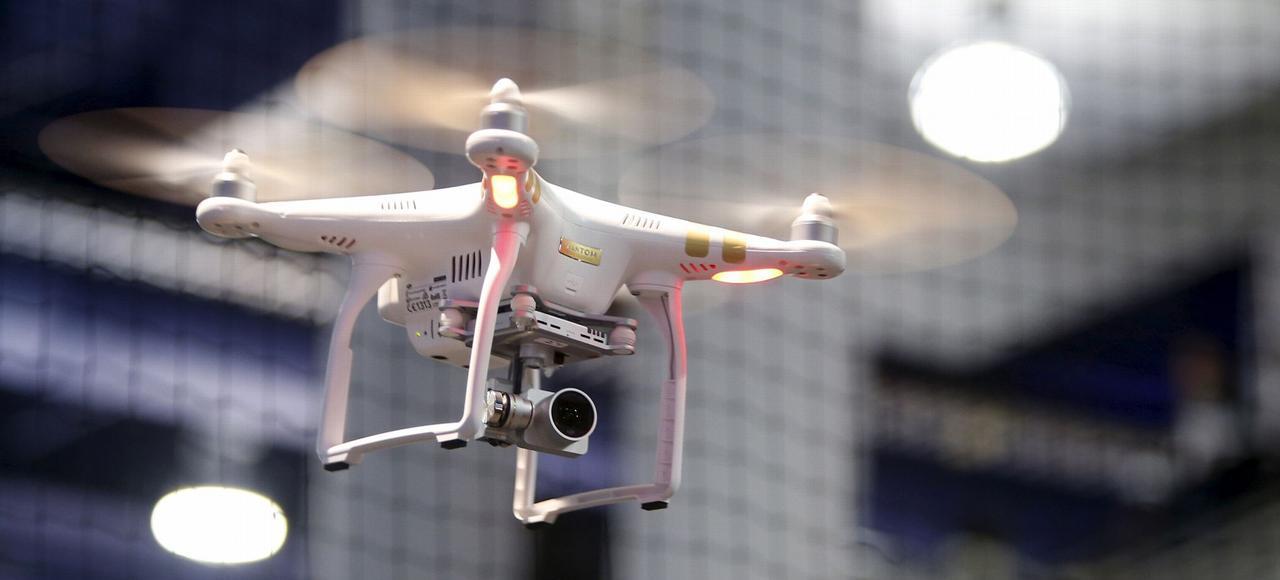 Un drone Phantom.