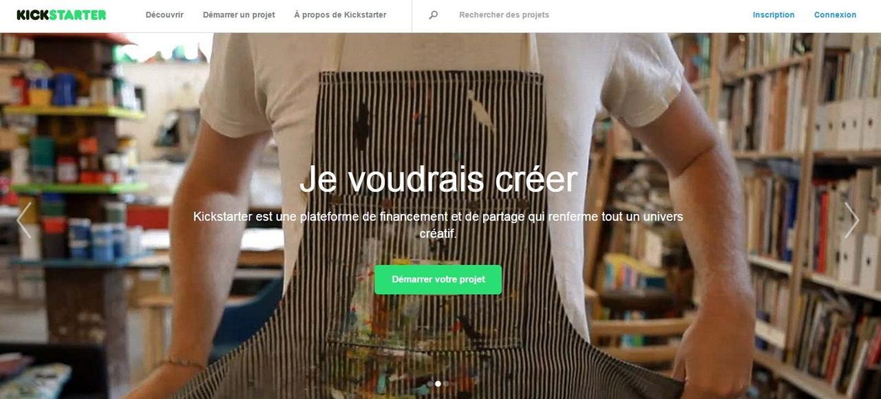 Sur Kickstarter, le leader américain du crowdfunding, le taux de réussite de financement d'une campagne est de 36%.