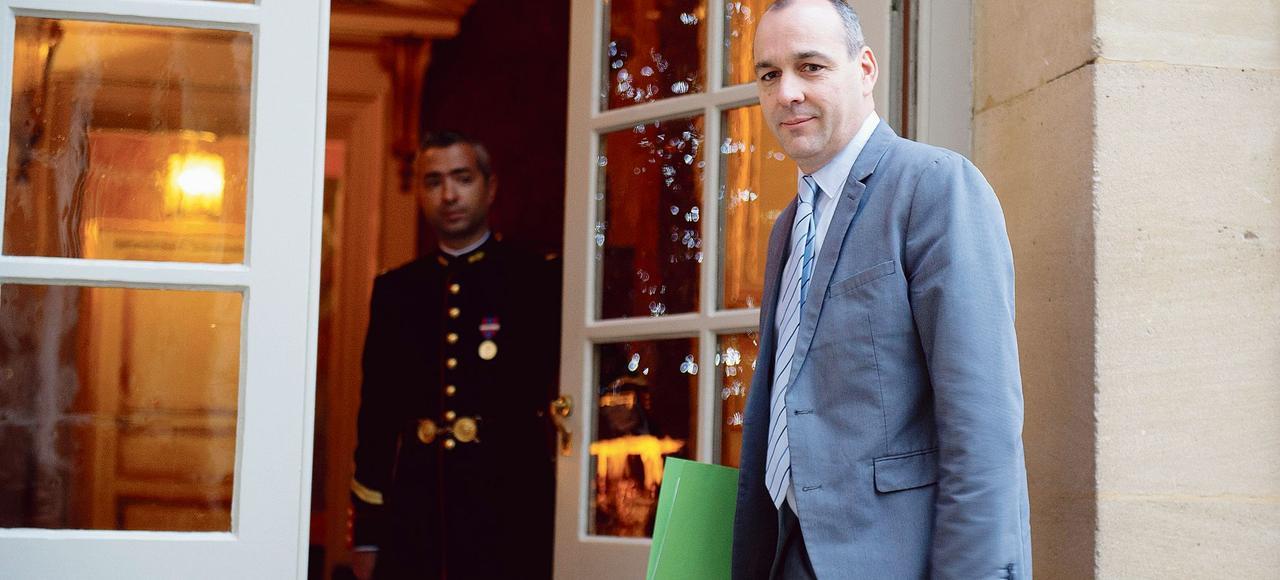 Le secrétaire général de la CFDT, Laurent Berger, à son arrivée à Matignon le 11 janvier dernier.