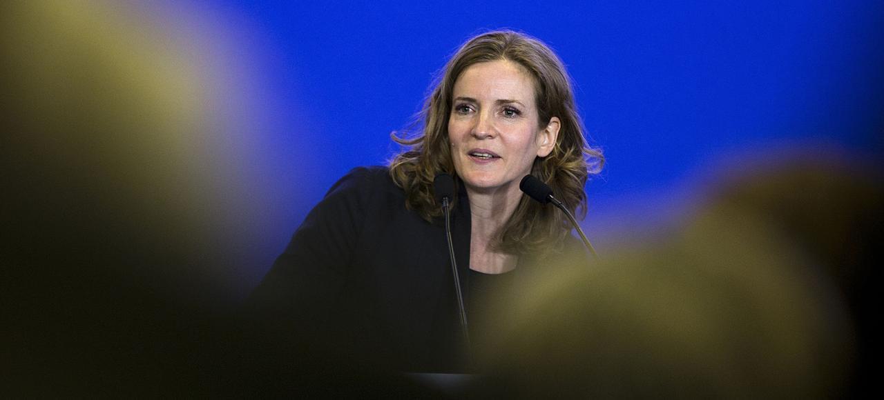 Nathalie Kosciusko-Morizet en novembre 2015, à Paris.