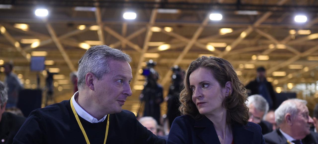 Bruno Le Maire et Nathalie Kosciusko-Morizet, deux de ces anciens cadets de la droite qui veulent accéder au premier rôle.