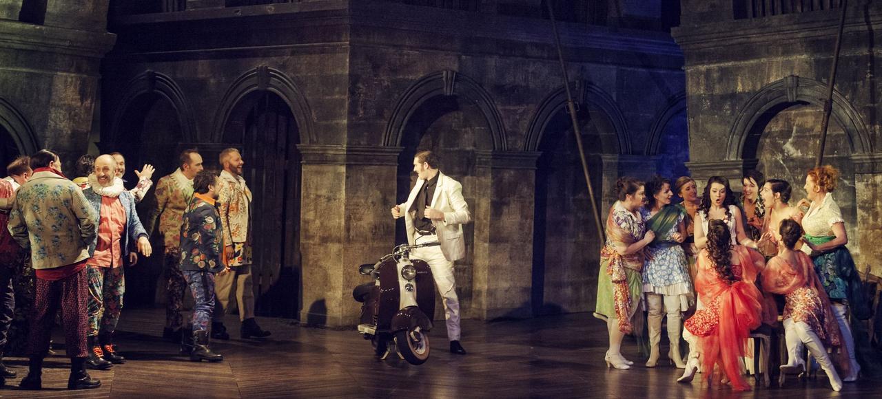 «Don Giovanni» mis en scène par Frédéric Roels, au Théâtre des Arts de Rouen.