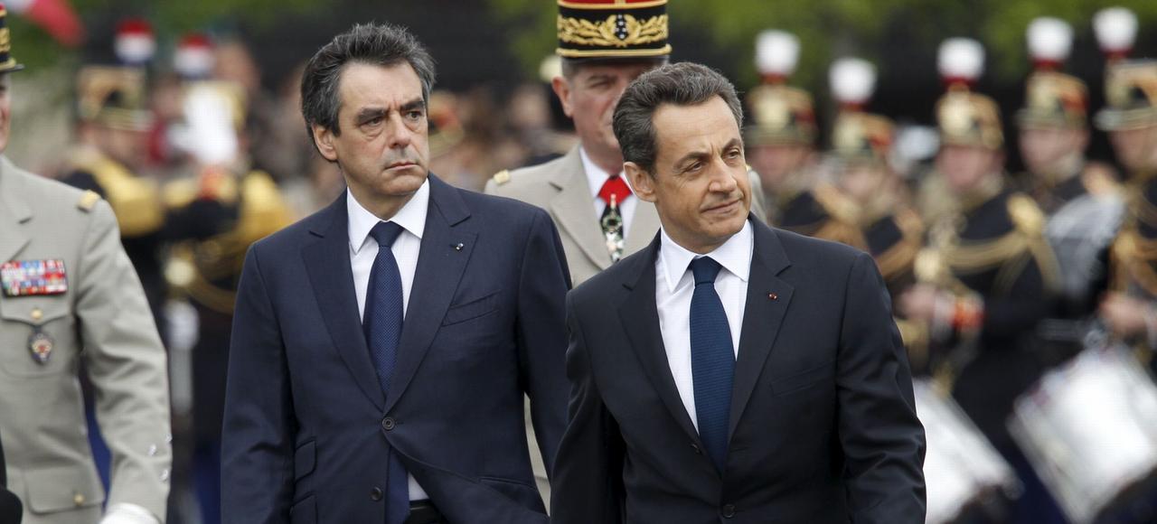 François Fillon et Nicolas Sarkozy