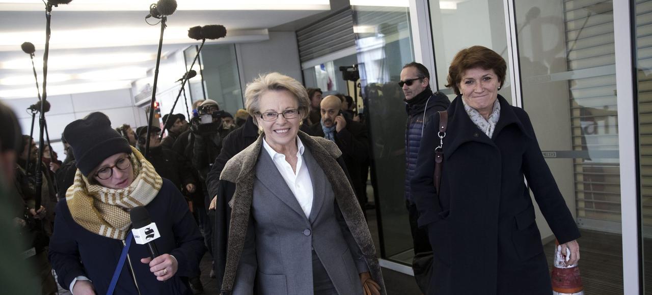 Michèle Alliot Marie, le 15 décembre dernier, bureau politique des Républicains.