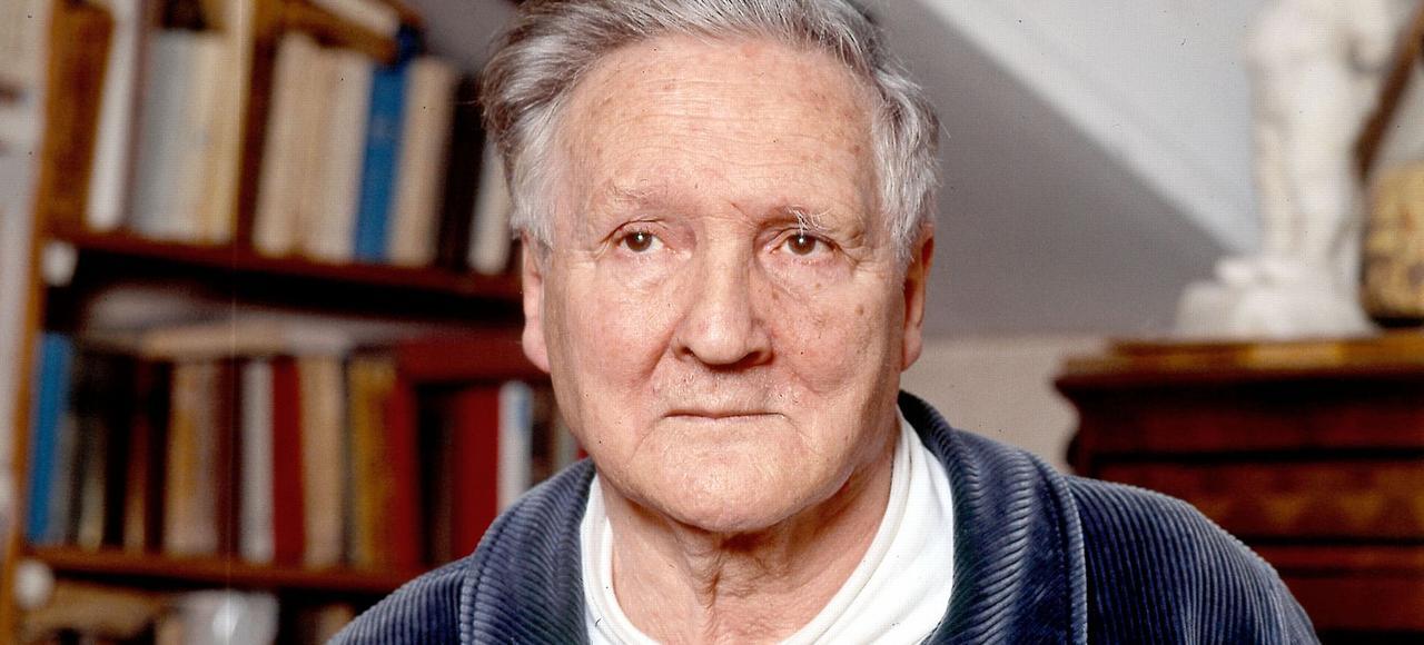 Pierre Boutang, en 1992.