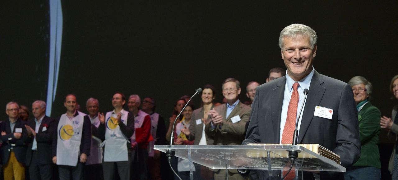 Laurent Bataille, président des Entrepreneurs et dirigeants chrétiens (EDC).