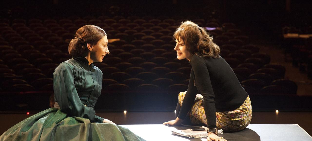 Natalie Dessay et Fanny Ardant, en répétition, au Châtelet.