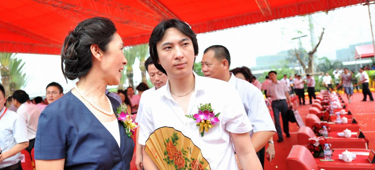 Wang Sicong (ici lors d'une cérémonie à Xiamen en 2011), fils de Wang Jianlin, l'homme le plus riche en Chine, est frappé d'un mal existentiel qu'il combat en faisant scandale sur les réseaux sociaux.