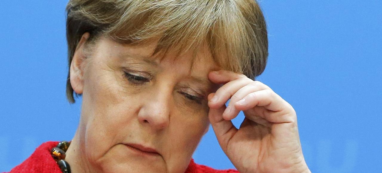 La chancelière allemande Angela Merkel, lundi à Berlin.
