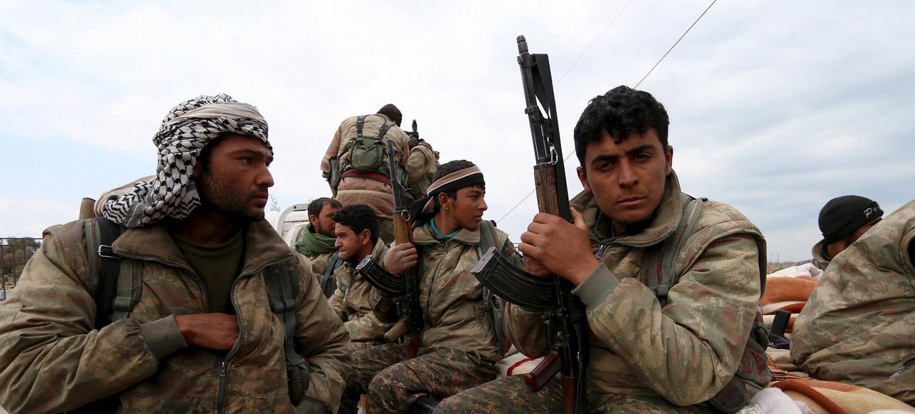 Les Kurdes ont pris soin de ne pas délimiter formellement les frontières d'une future zone autonome.