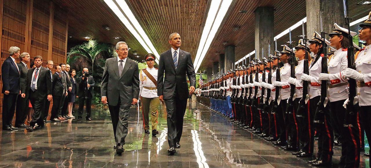 Raul Castro et Barack Obama, lundi 21 mars à La Havane.