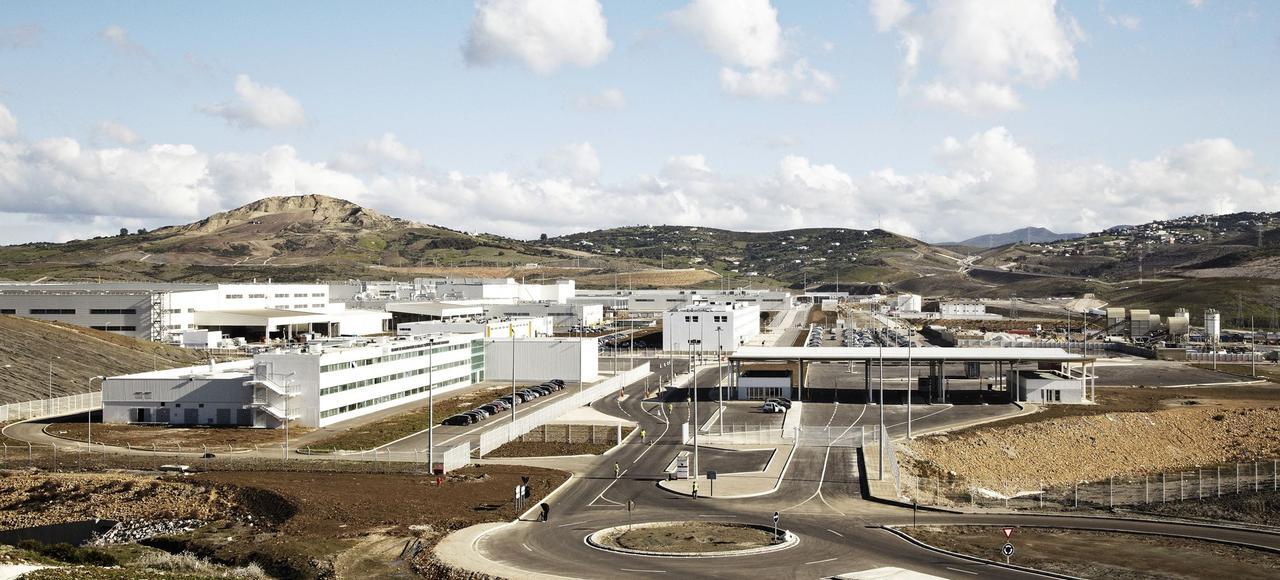L'usine Renault à Tanger fait travailler7000 personnessur les lignesde productionde sa filiale Dacia.