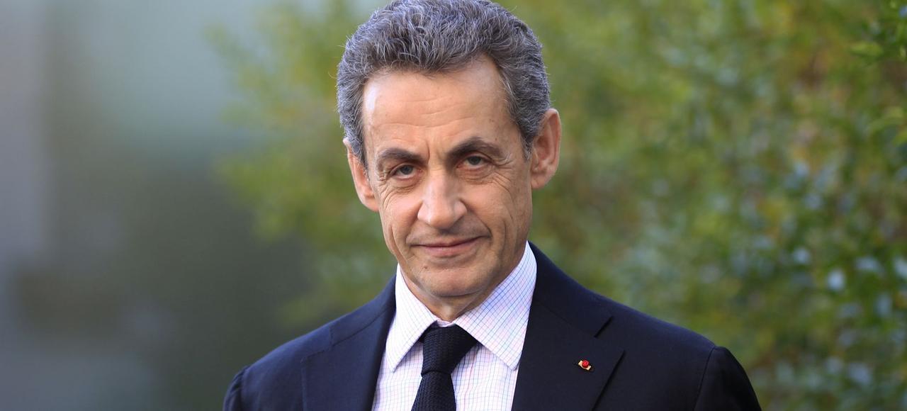 Nicolas Sarkozy, lors d'un entretien avec <i>Le Figaro.</i>