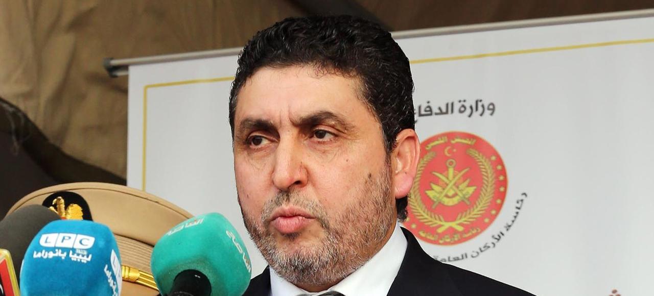 Khalifa Ghwell, chef du gouvernement de «salut national», basé à Tripoli.