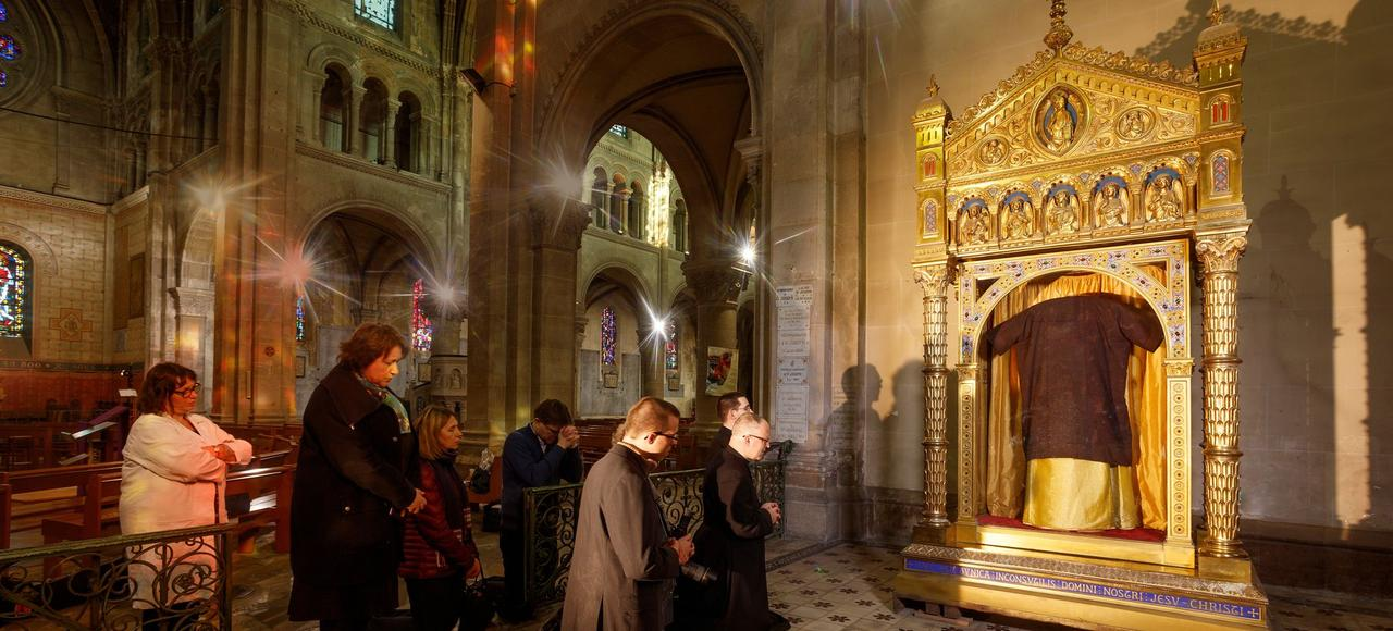Ces reliques du Christ qui sont en France