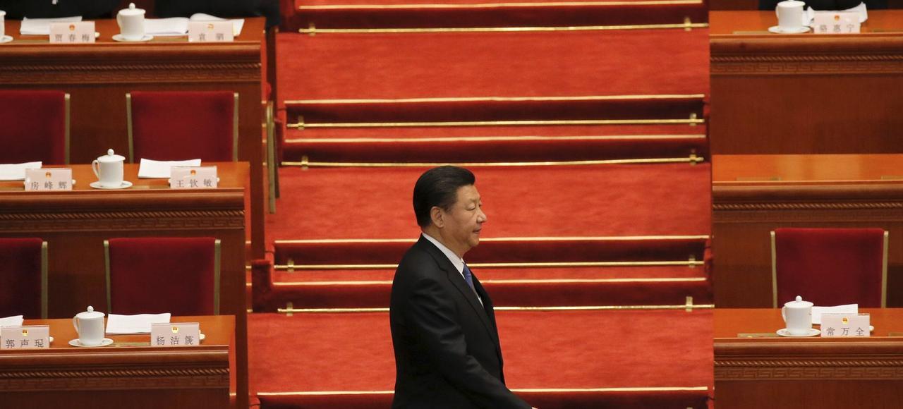 Plusieurs voix se sont élevées récemment au sein du Parti pour réclamer le respect de la liberté d'expression, alors que Xi a muselé toute forme de contestation et a mis les médias au pas.