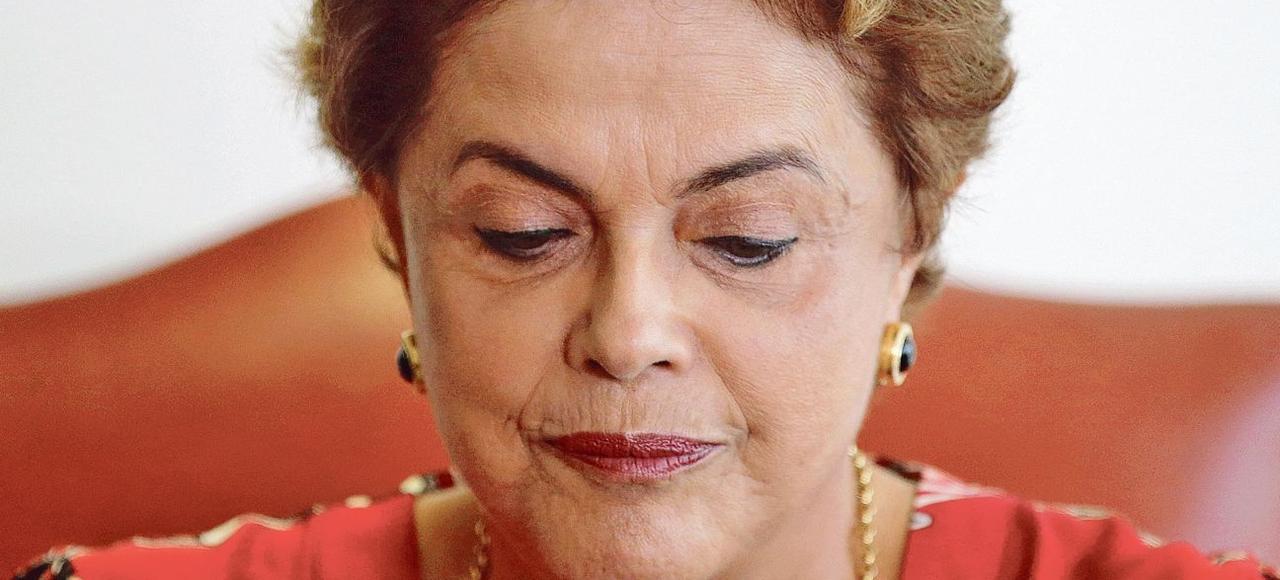 Dilma Rousseff pourrait être forcée à quitter la présidence du Brésil d'ici à la fin avril.