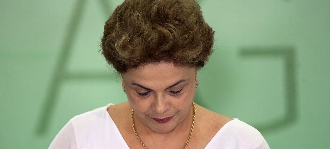 Dilma Rousseff, le 1er avril dernier.