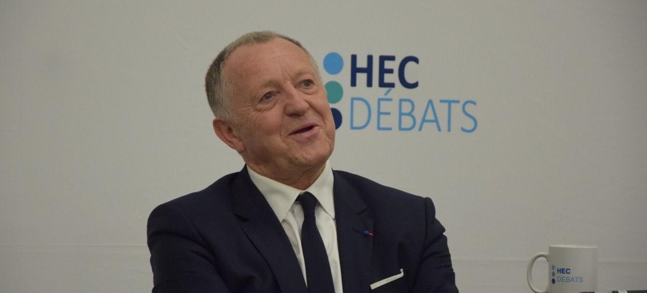 «J'utilise Twitter parce que c'est le seul moyen de conquérir la jeunesse», expliqué Jean-Michel Aulas, président de l'Olympique lyonnais et du groupe Cegid.