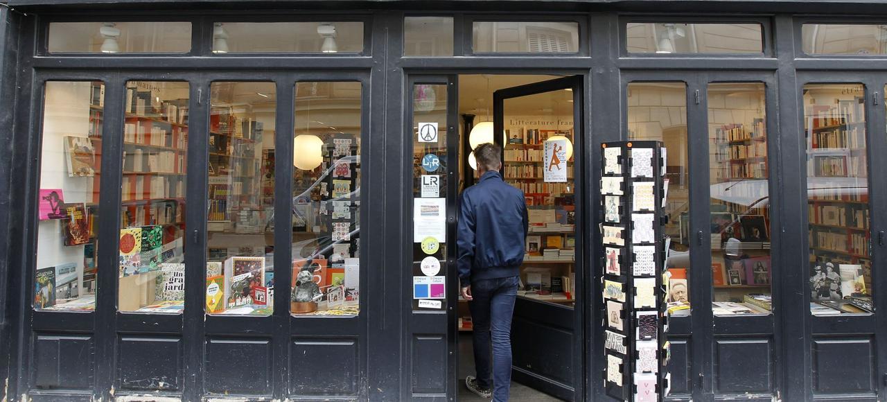 La librairie Les Arpenteurs, à Paris (IXe)