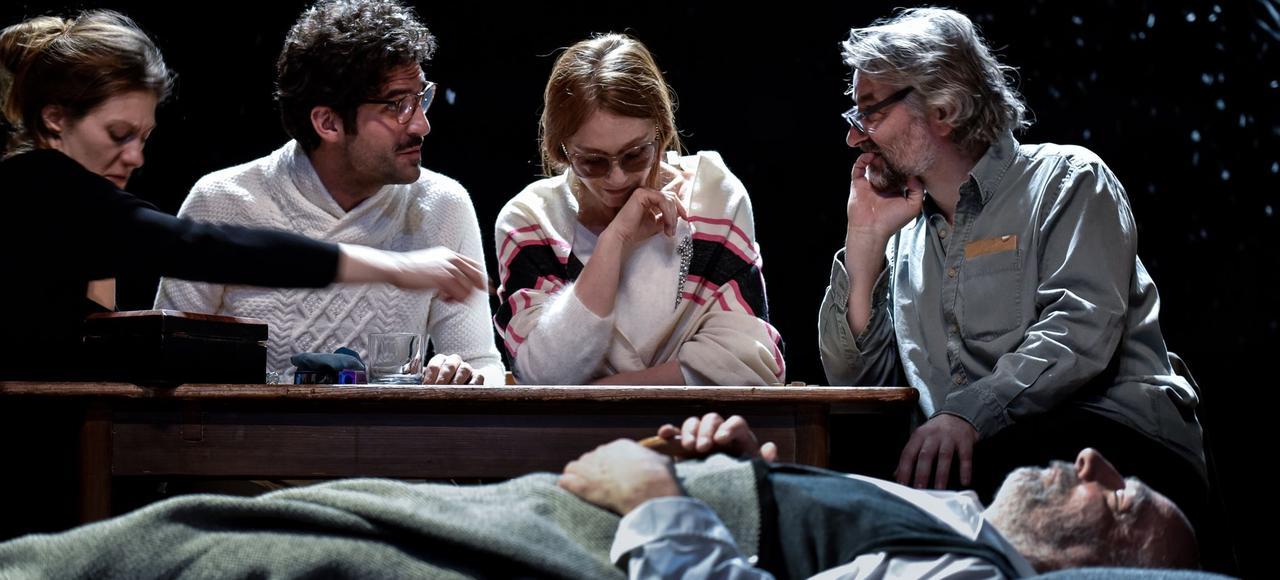 <i>La Mouette</i>, une pièce mise en scène par Thomas Ostermeier au théâtre de l'Odéon.