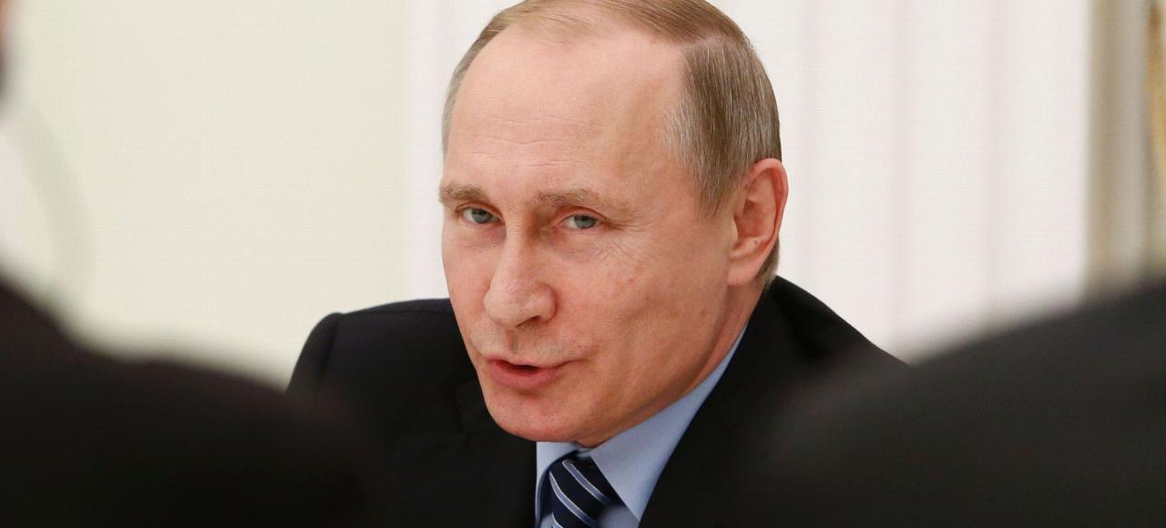 Vladimir Poutine au Kremlin, le 25 mai.