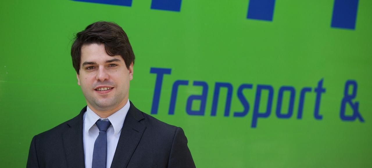 «Mon enjeu est de réussir à court terme la transformation numérique qui a d'importantes conséquences sur notre métier et les relations avec nos clients», explique Jean-Thomas Schmitt, directeur général du groupe de transport Heppner.
