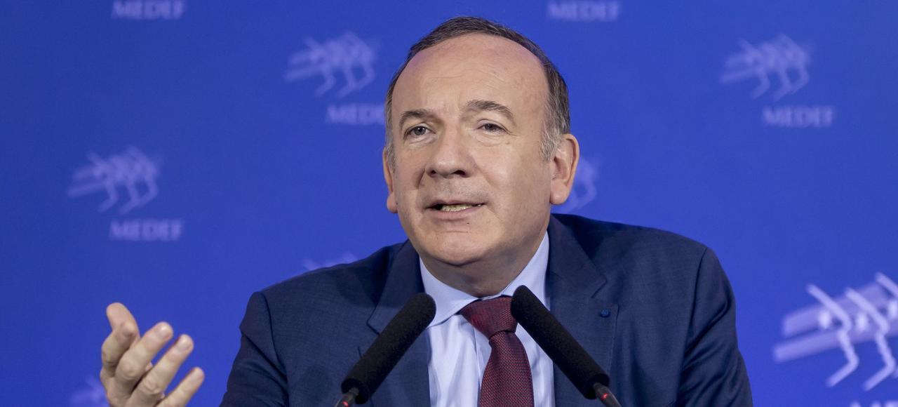 Pierre Gattaz veut rassurer les Français en soulignant les atouts tricolores.