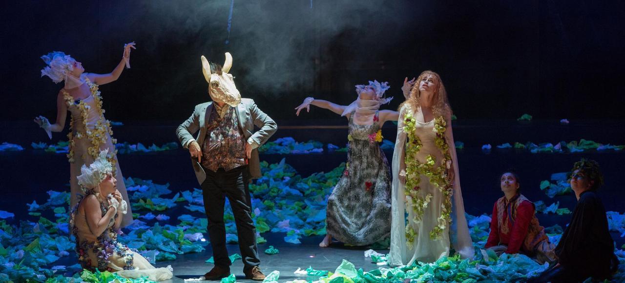 <i>Le Songe d'une nuit </i> <i>d'été</i>, mis en scène par Guy-Pierre Couleau, est le spectacle principal de l'été au Théâtre du Peuple.