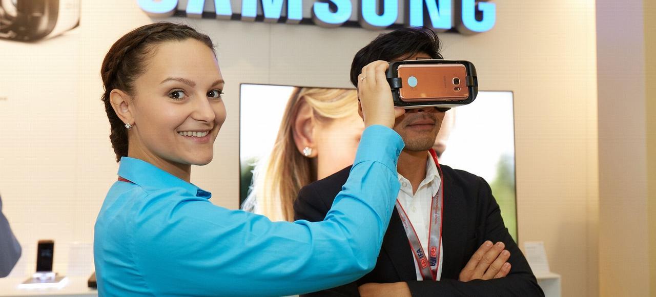 Le Gear VR de Samsung.