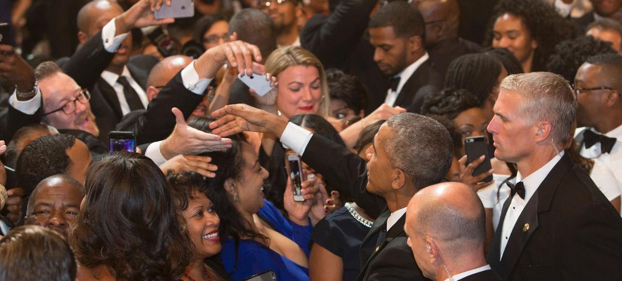 Barack Obama, lors du gala annuel du Black Caucus (les élus noirs au Congrès), le 17 septembre à Washington